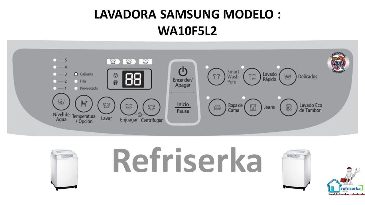 Diagrama Lavadora Samsung WA10F5L2