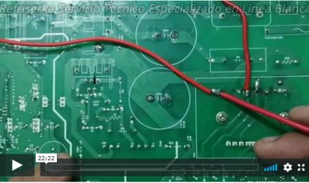 Como hacer conversion de Compresor Lg Lineal Inverter a Convencional retirando modulo IPM | refriserka